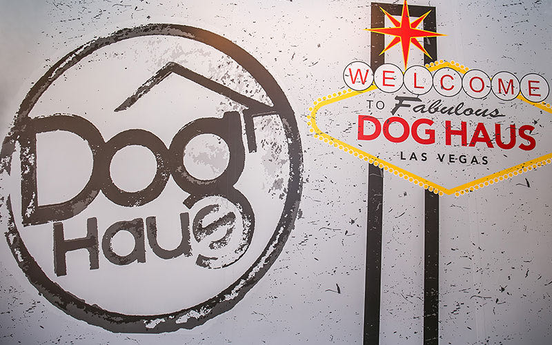 Exterior view of Dog Haus Las Vegas