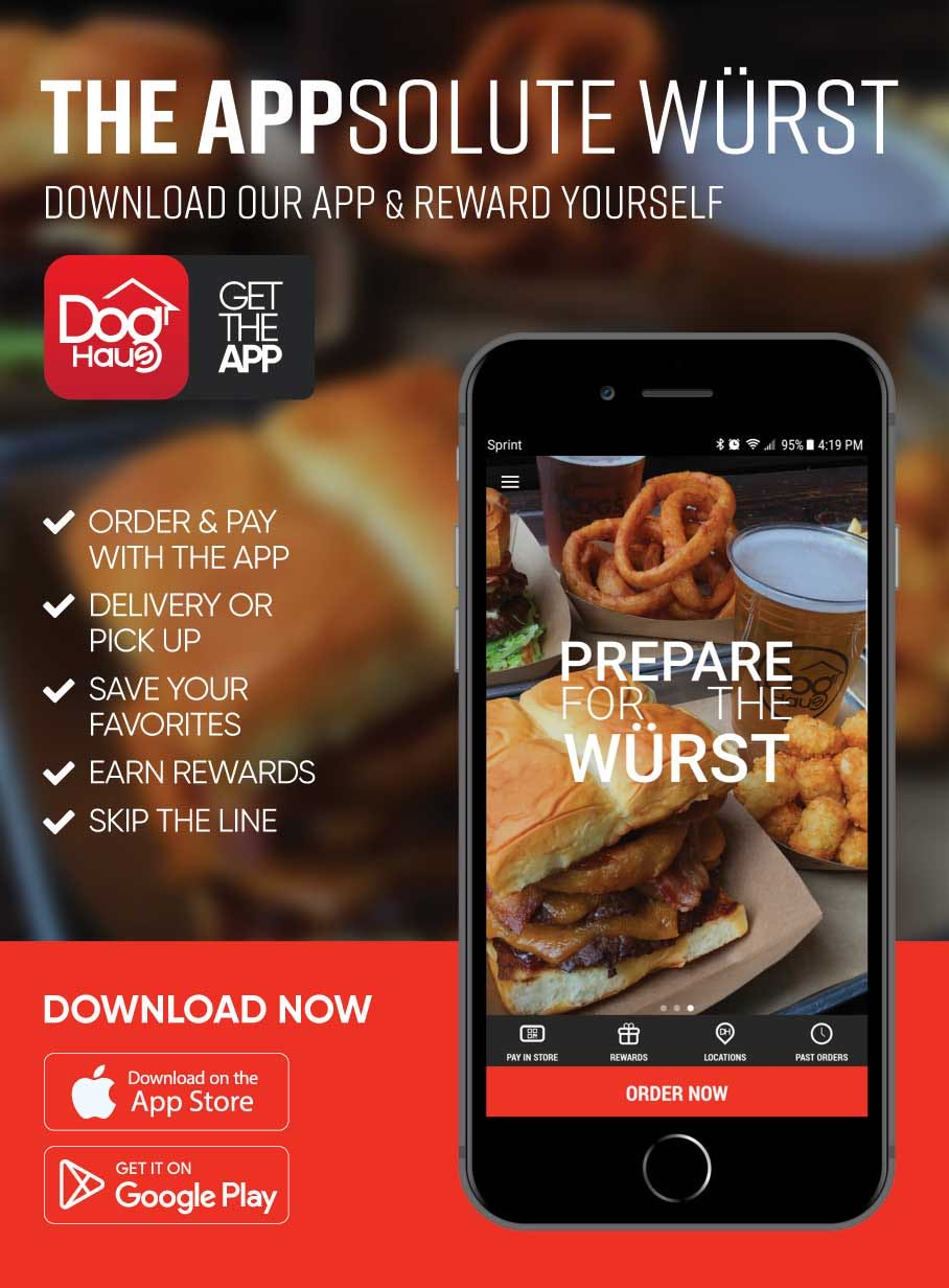 Download the Dog Haus app for iOS & Android